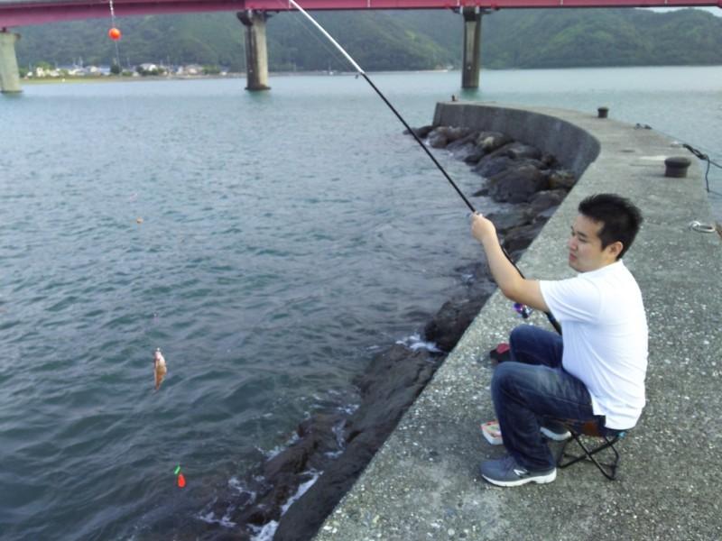 釣り in 土佐市 宇佐