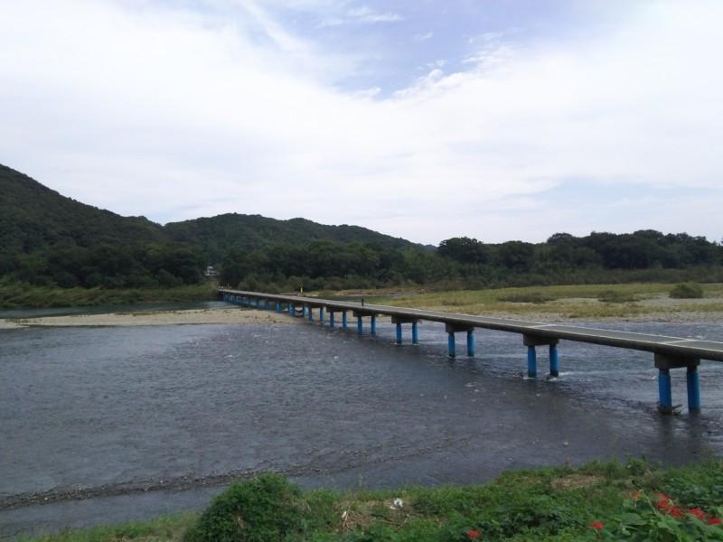 佐田沈下橋 in 四万十市