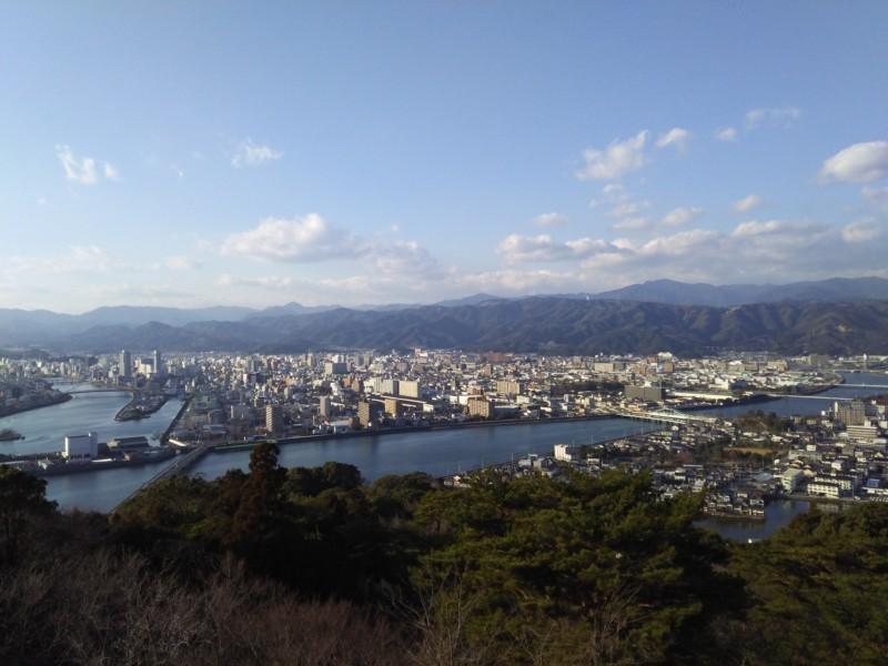 五台山公園 in 高知市