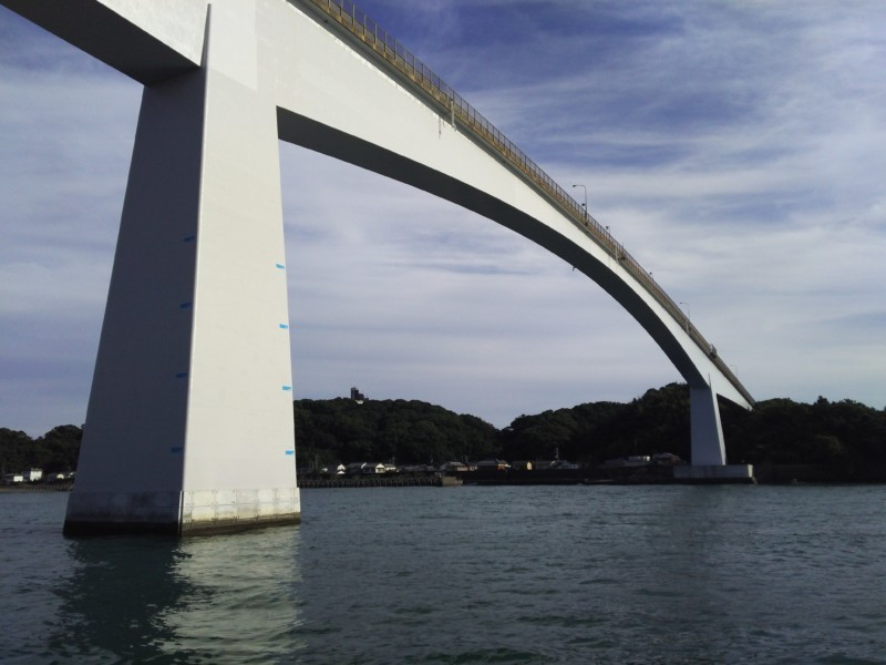 釣り in 高知市 浦戸大橋